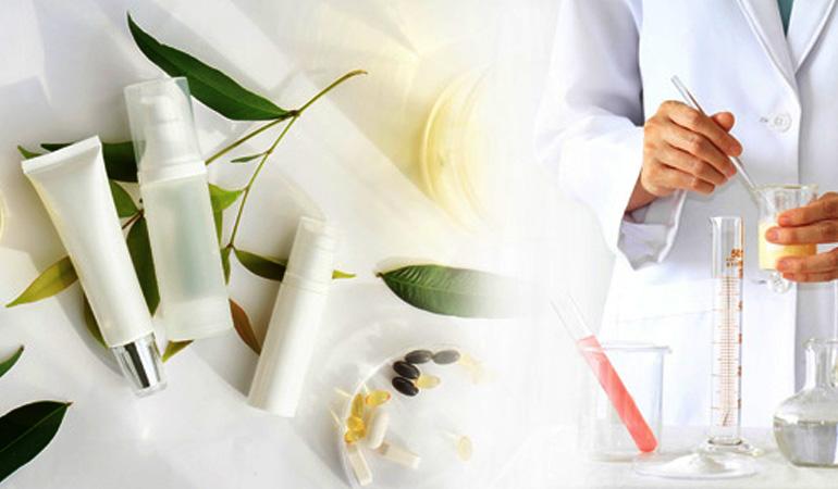 آزمایش و آنالیز محصولات آرایشی